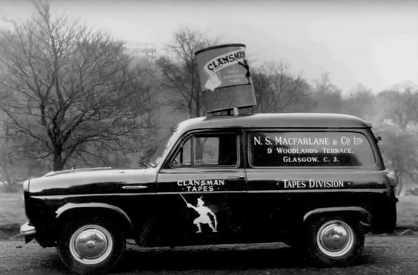 old van with MacFarlane branding